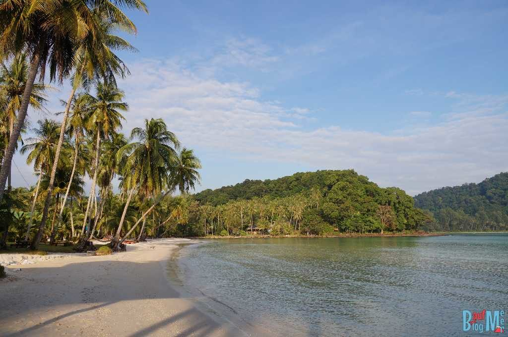 Strand an der Bucht Khlong Hin auf Ko Kood