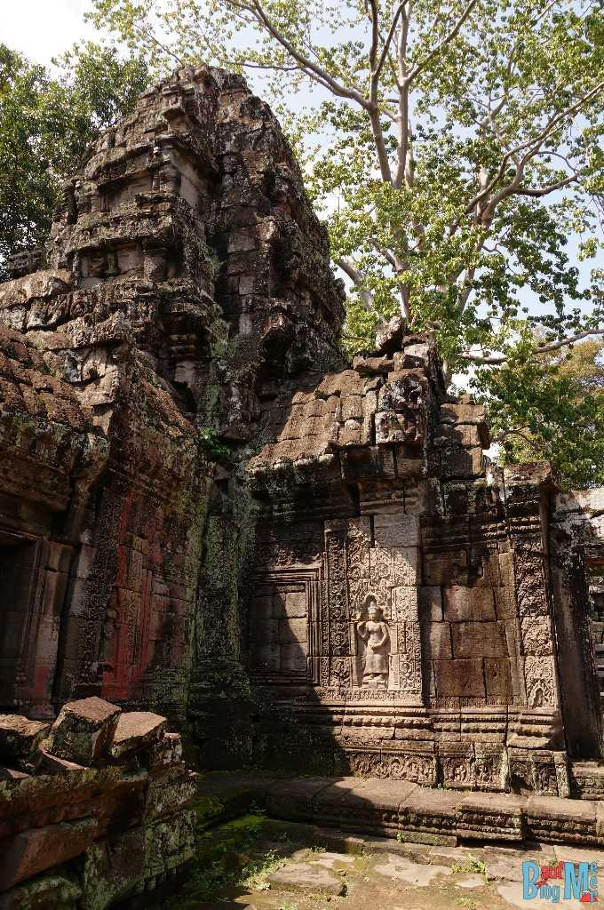 Banteay Kdei Tempel Anlage von innen