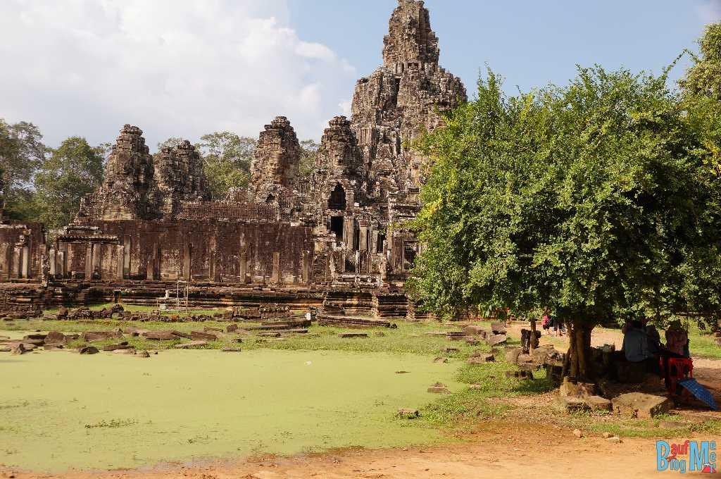 Bayon Tempel von Aussen