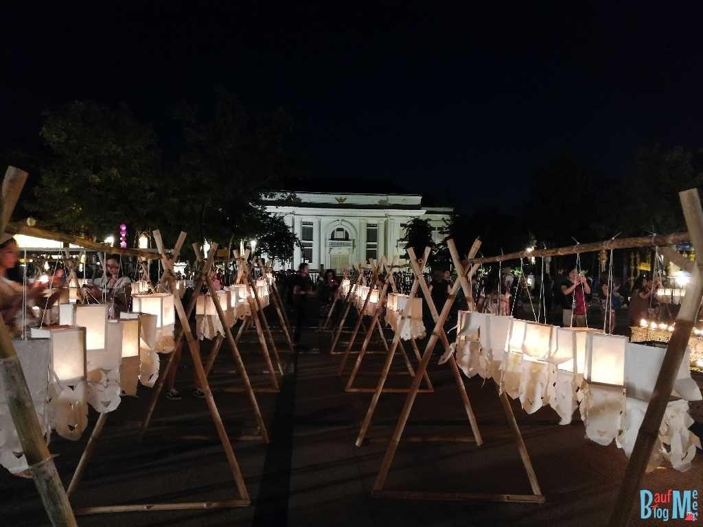 Lampions beim Chiang Mai Lichterfest