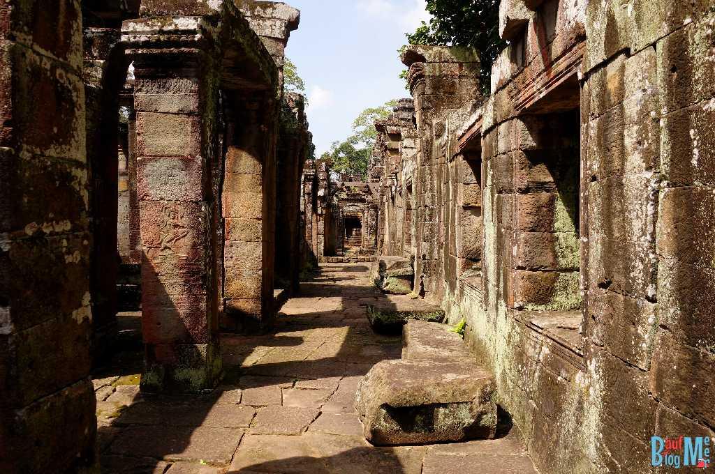 Banteay Kdei Gang ohne Dach