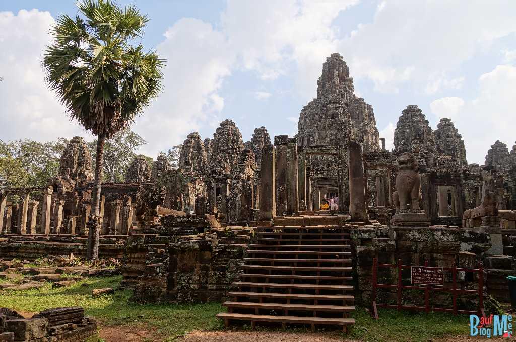 Haupteingang des Bayon Tempel