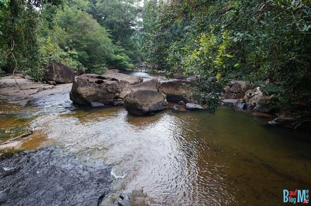 Khlong Yai Kee Wasserfall auf Ko Kood