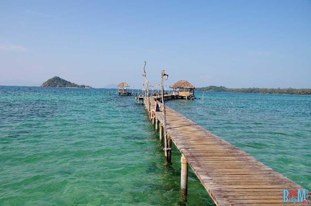 Pier beim Cococape Resort