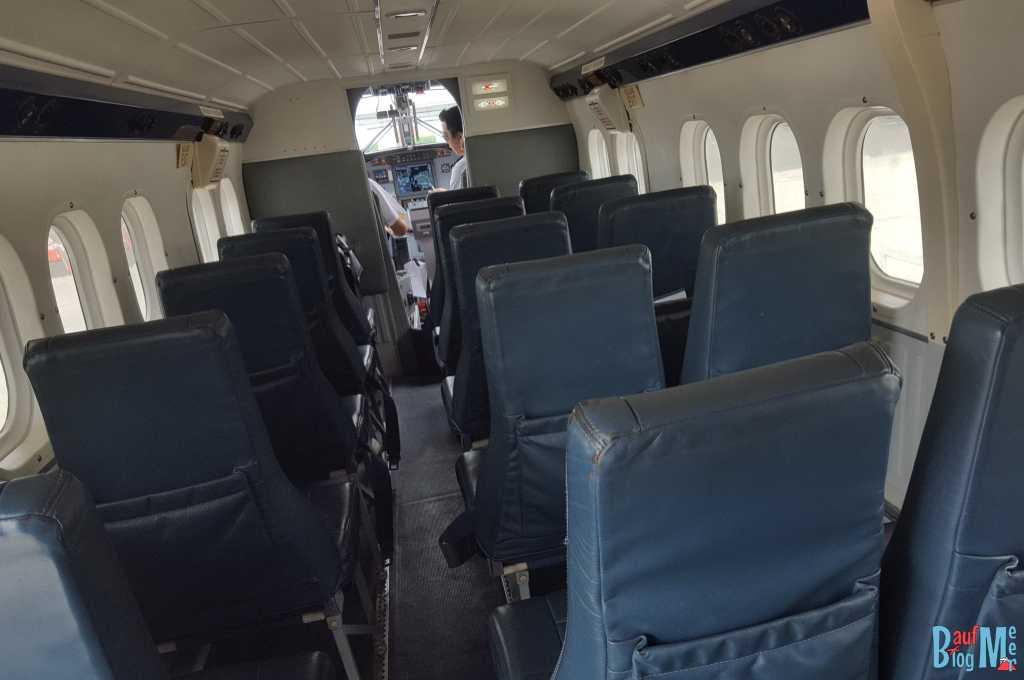 Passagierraum einer Twinotter