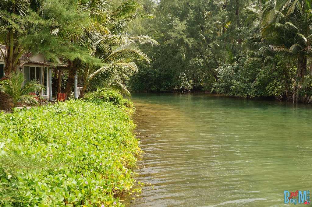 Fluss am S-Beach Resort auf Ko Kood