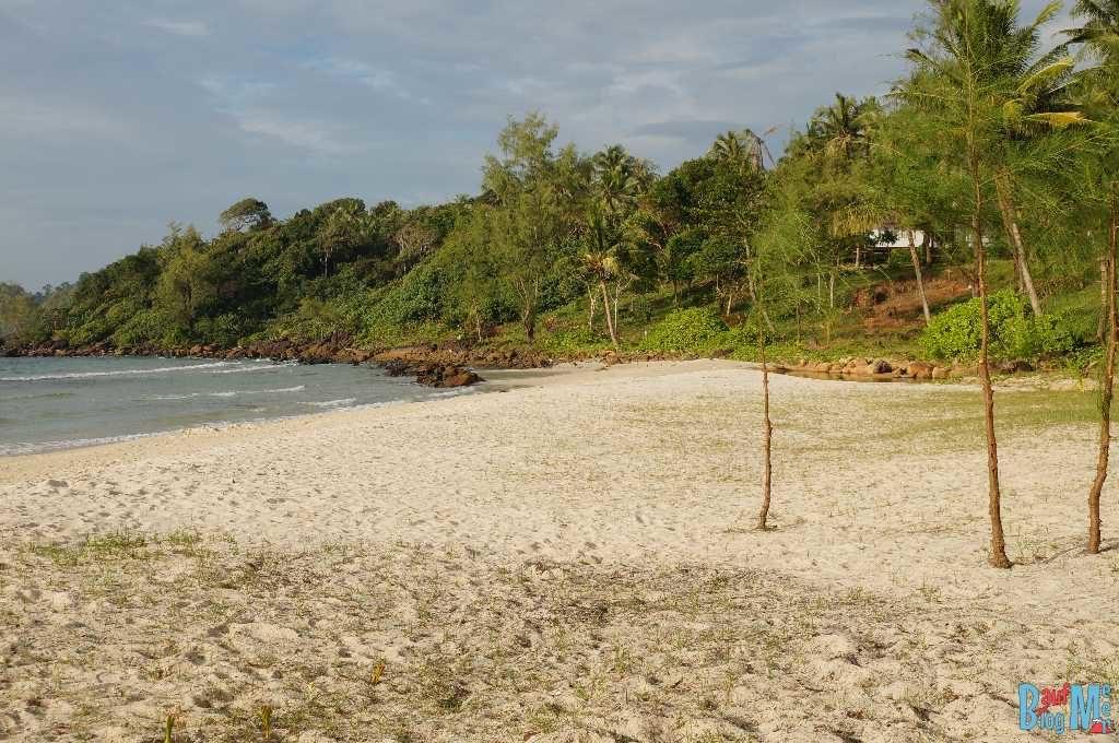 Strand unserer Unterkunft auf Ko Kood