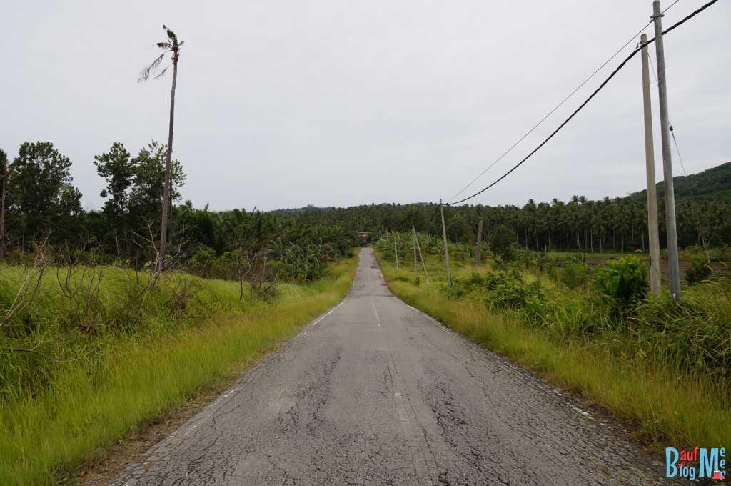 Straßen im äußersten Nordosten Borneos