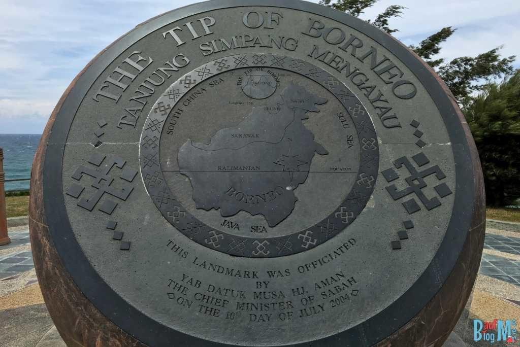 Tip of Borneo Statue