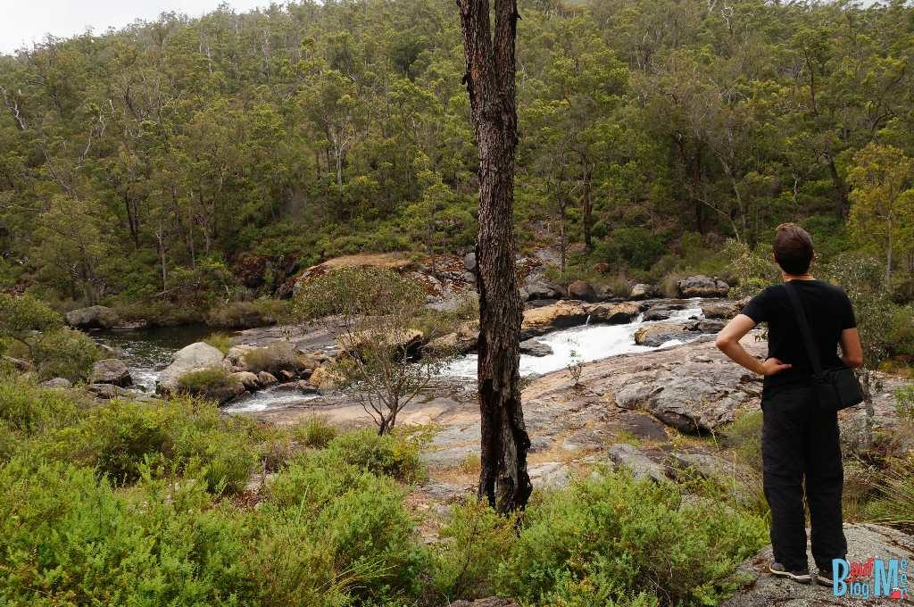 Kaskaden des Collie River