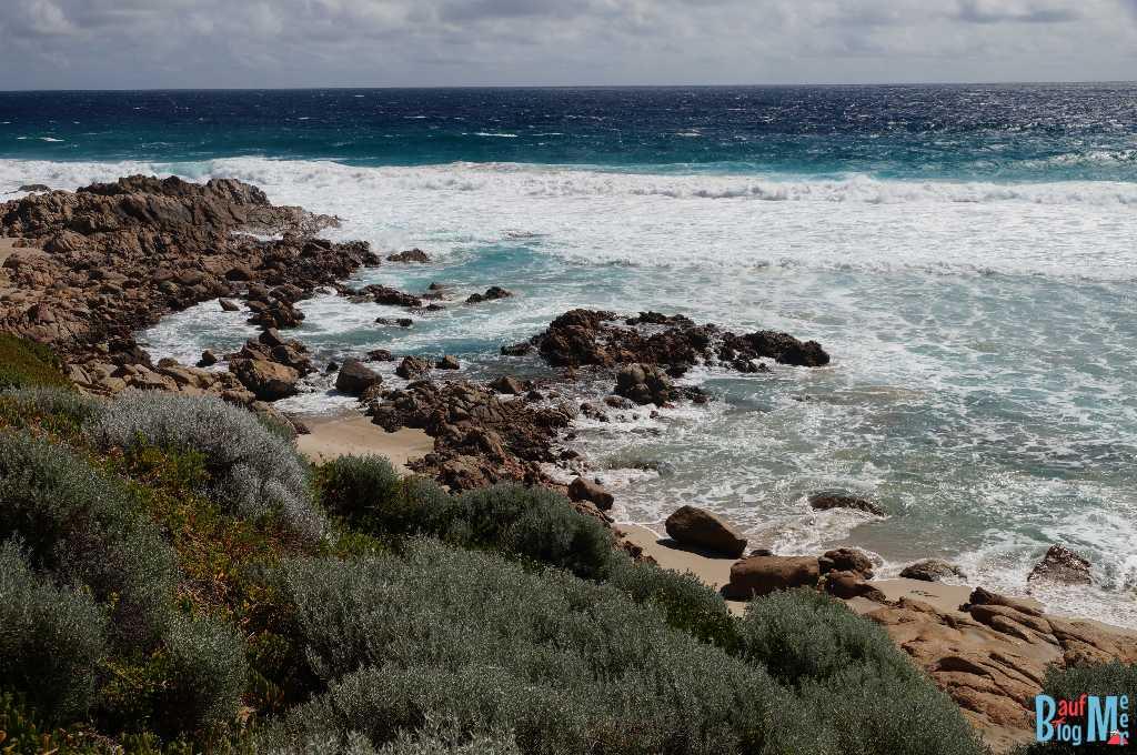 Felsenküste am Cape Naturaliste
