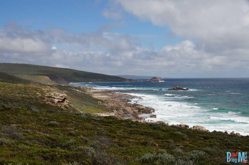 Felsige Küstenlandschaft am Cape Naturaliste