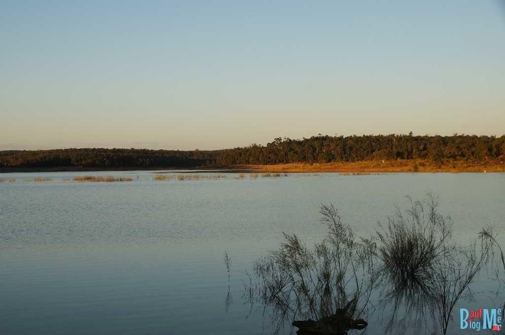 Lake Brockman bei Sonnenuntergang