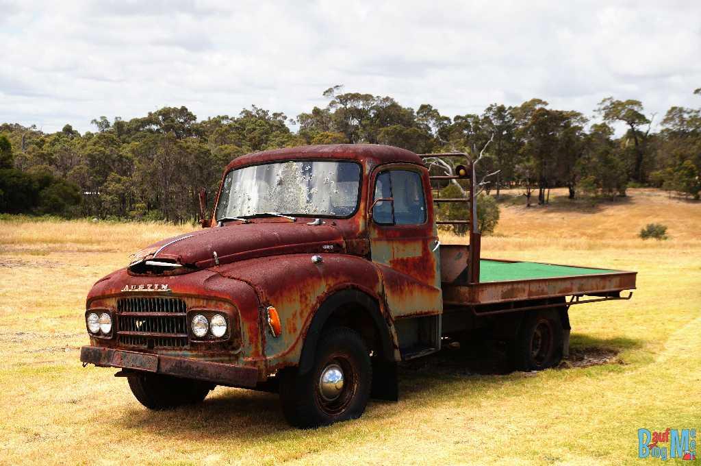 Truck bei der Old Kent River Winzerei
