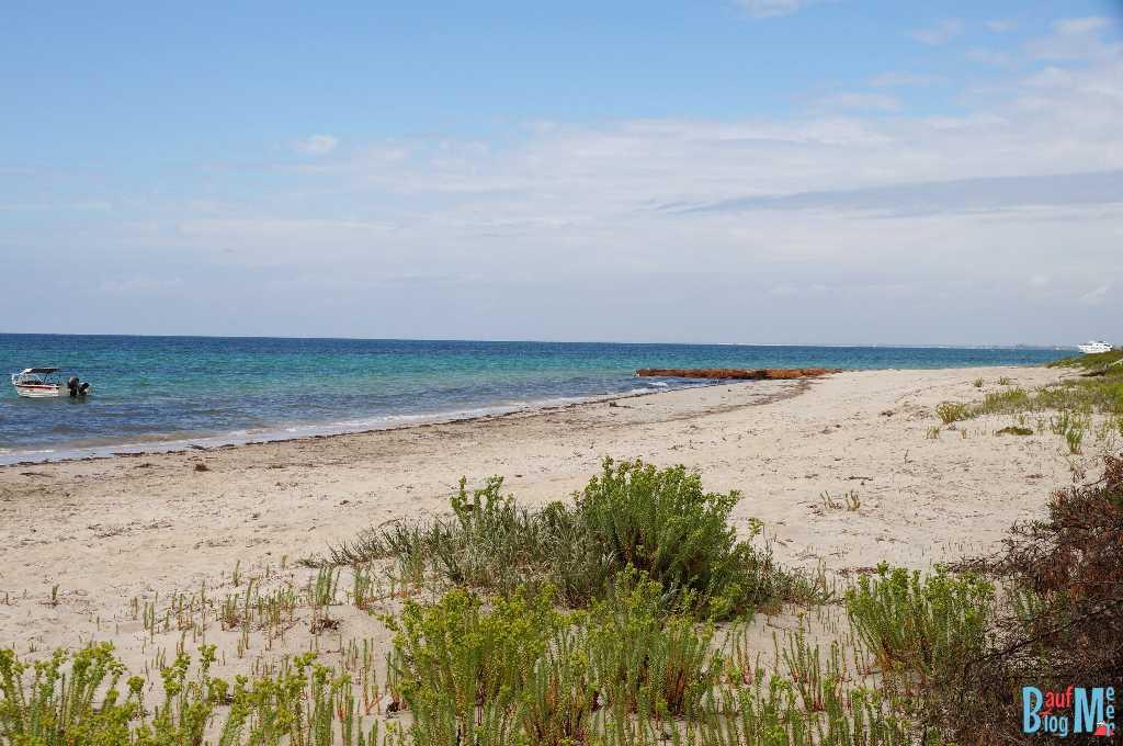 Strand beim Camp Grace in der Nähe von Busselton