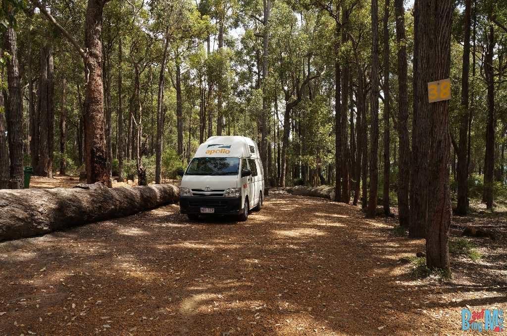 Unser Camper Van in West Australien