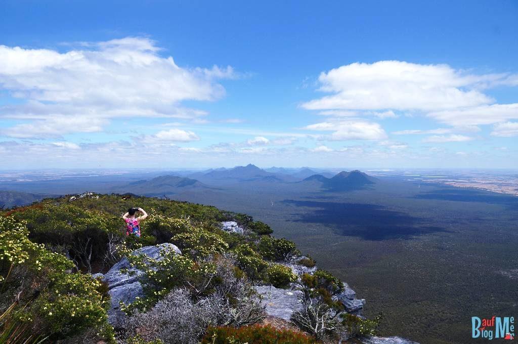 Aussicht vom Gipfel des Bluff Knoll