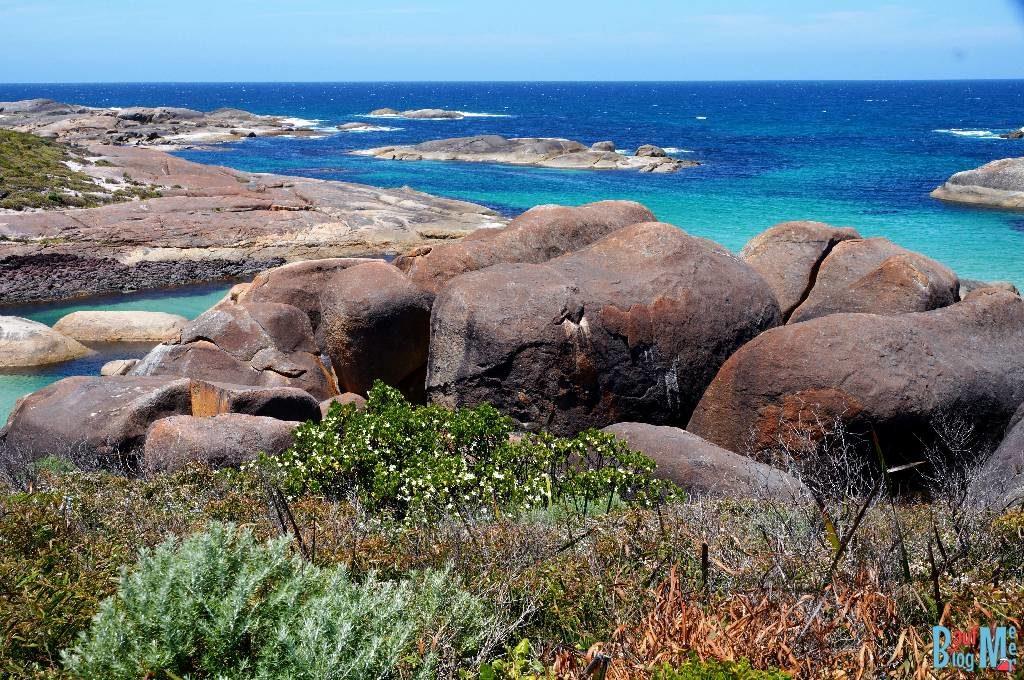 Die Elephant Rocks. Entdeckst du den Elefanten?