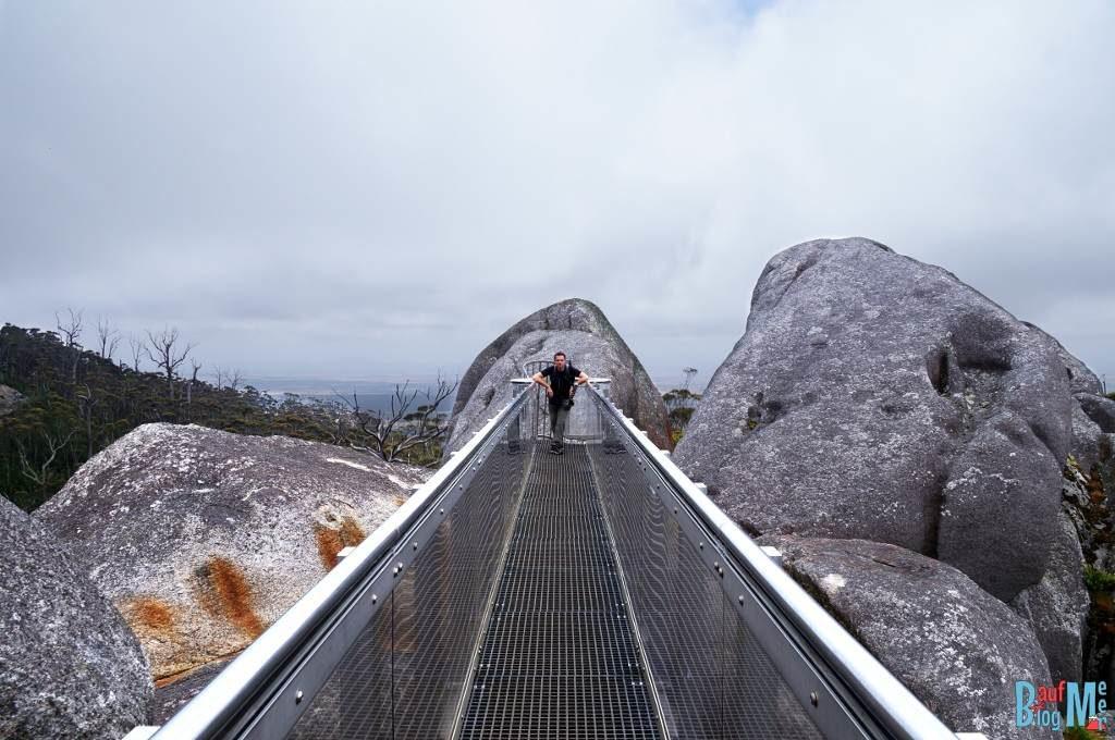Chris auf dem Granite Skywalk