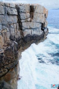 """Steilküste bei """"The Gap"""""""