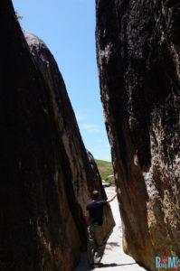 Durchgang zum Elephant Cove