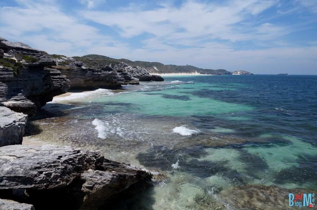 Henrietta Rocks Küste auf Rottnest Island