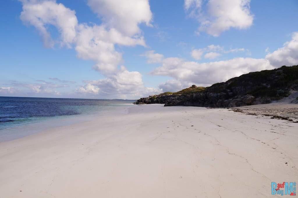 Sandy Cape Strand am frühen Morgen. Rechts von unserem Platz