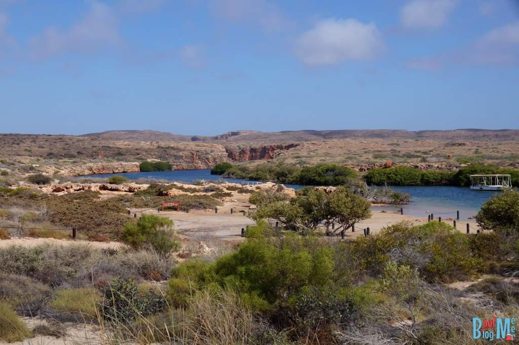 Mündung des Yardie Creek