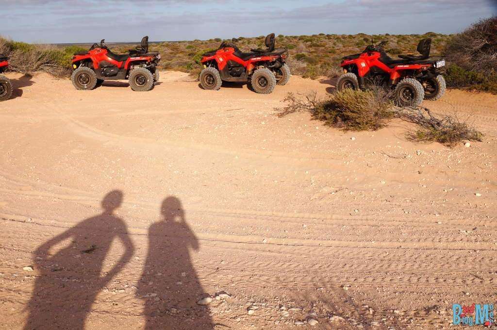 Marsmännchen Schatten und Quads ;)