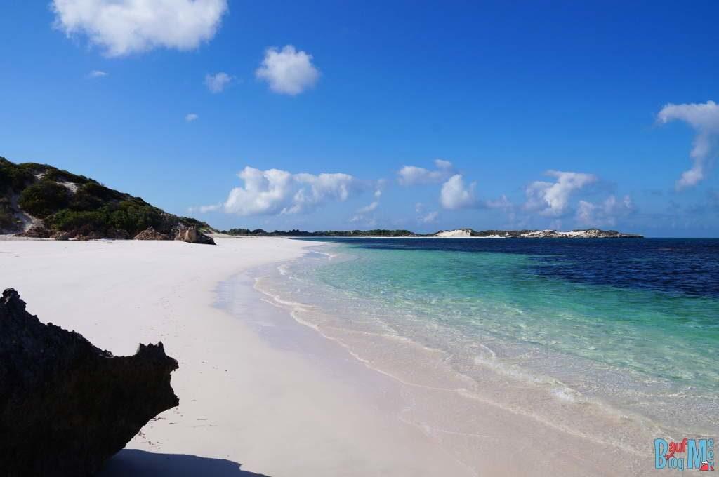 Traumhaft weißer Strand bei Sandy Cape