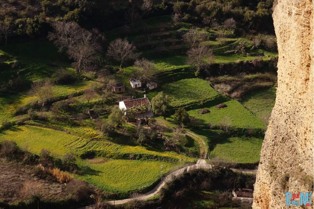 Ausblick von den Terassen Rondas