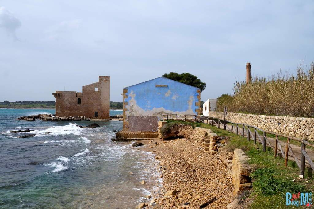 Die Tonnara in Vendicari auf Sizilien