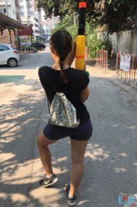 Annas Songkran Outfit und Ausstattung am 1. Tag