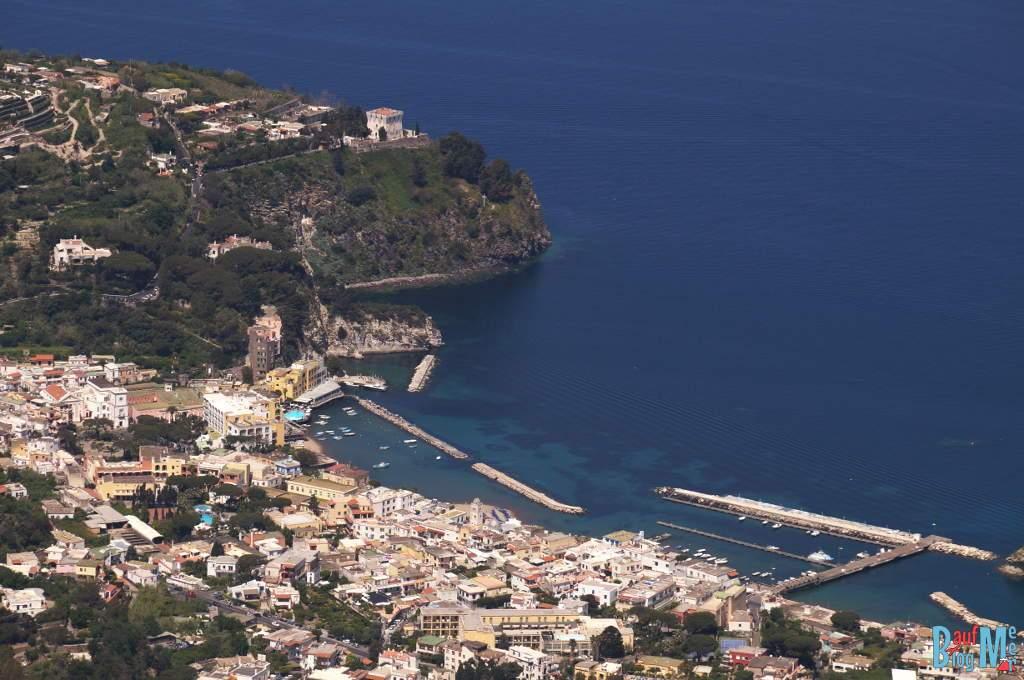 Lacco Ameno Ischia vom Epomeo Gipfel aus