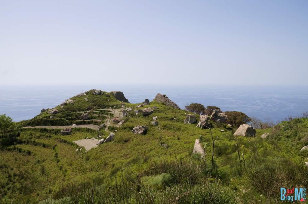Wanderwege auf der italienischen Insel Ischia
