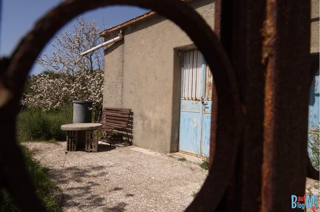 Haus bei der Wanderung rauf zum Epomeo Ischia