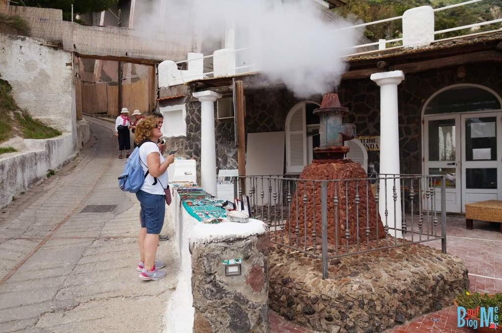 Fumarole auf Ischia