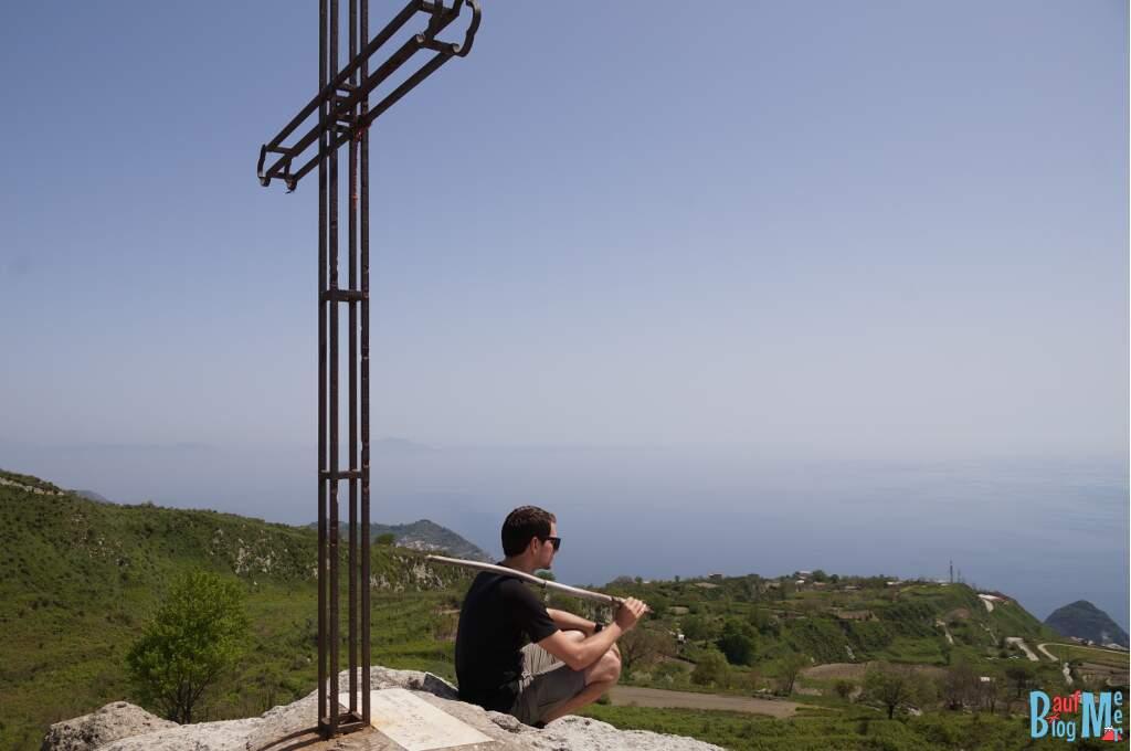Kleiner Abstecher bei der Epomeo Wanderung auf Ischia