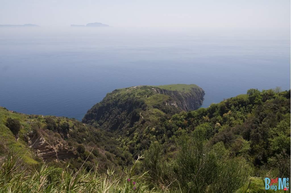 Blick auf Punta di San Pancrazio