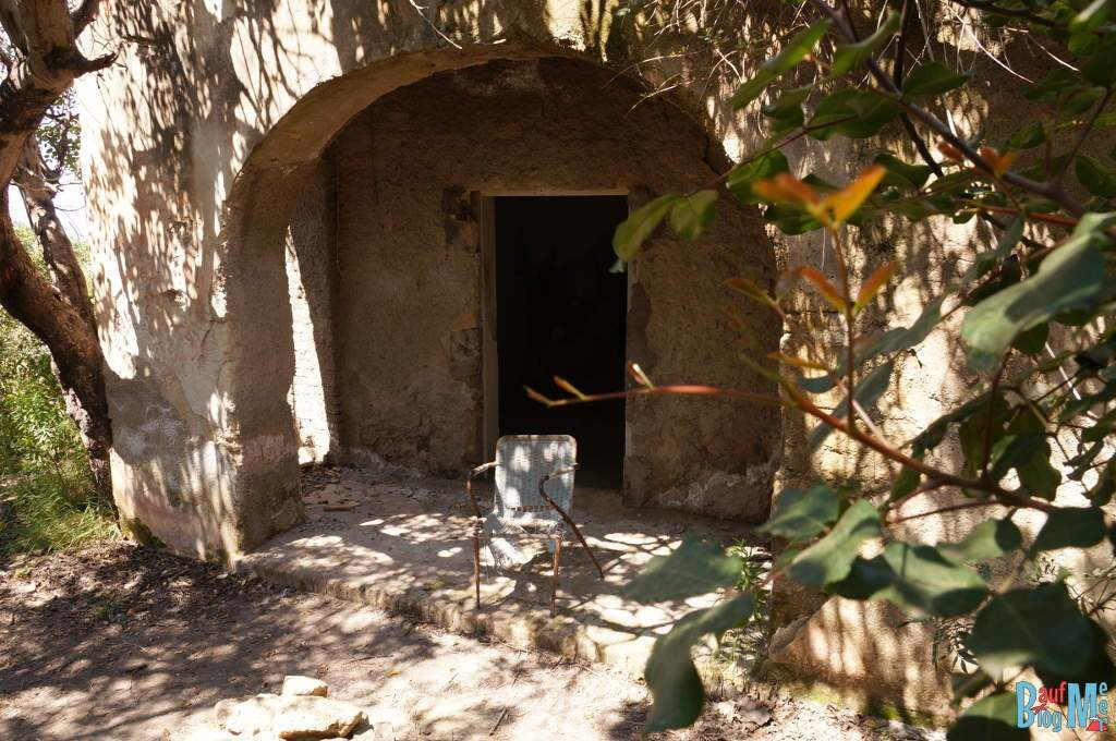 Verlassenes Haus auf der Insel Ischia