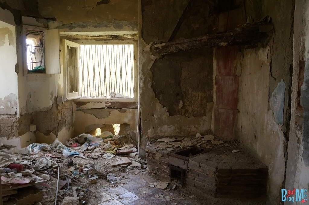Verlassenes Haus auf Ischia (Italien)