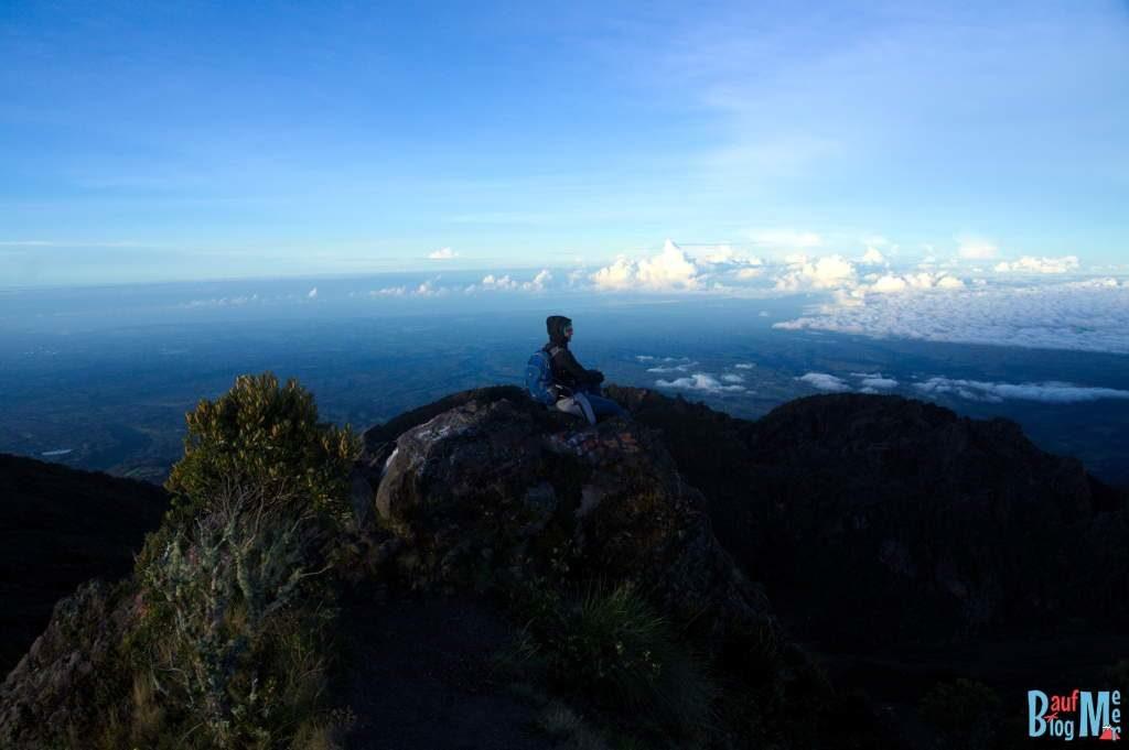 Blick in Richtung Pazifik vom Volcan Baru