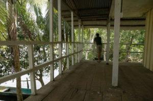 Balkon in der Unterkunft in San San Pond Sak