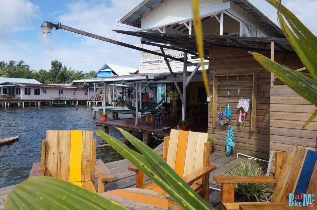 Barrbra BnB in der Saigon Bay Bocas del Toro zur Regenzeit