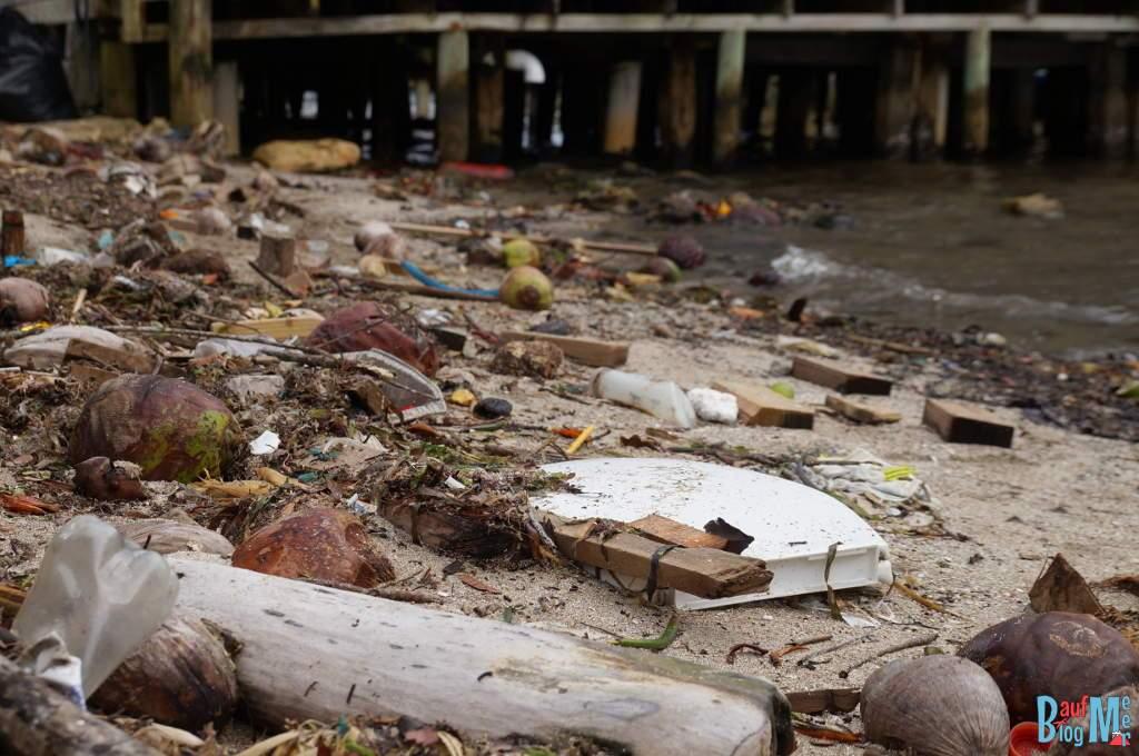 Müll in Bocas del Toro
