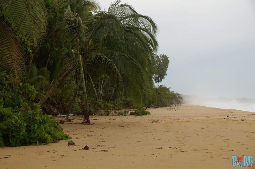 Playa Bluff Bocas del Toro zur Regenzeit