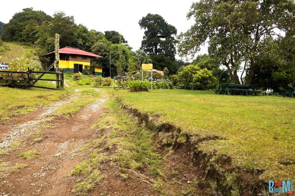 Ranger Haus beim Sendero los Quetzales