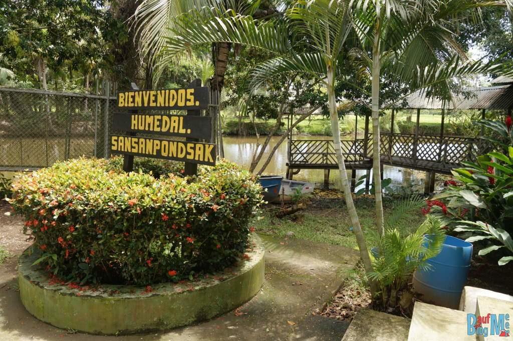 Ausgangsbasis zum San San Pond Sak und den Seekühen