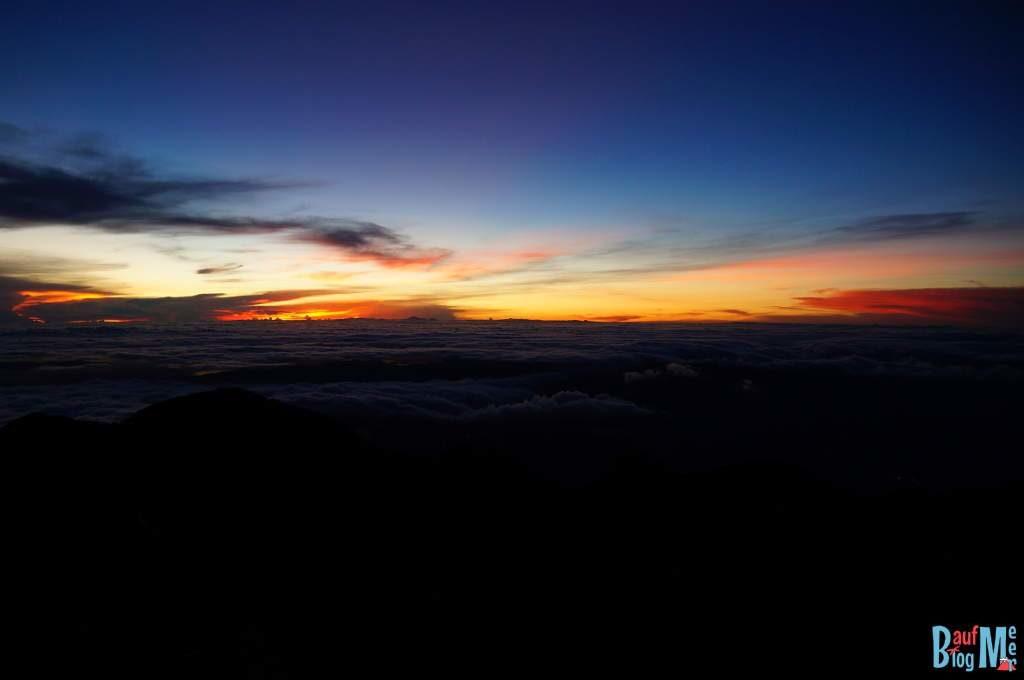 Sonnenaufgang vom Gipfel des Volcan Baru