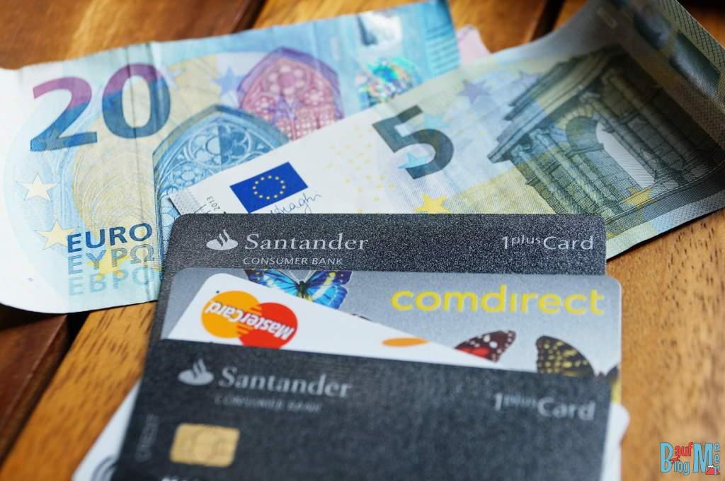 Weltweit kostenlos Geld abheben mit der Santander 1Plus Kreditkarte